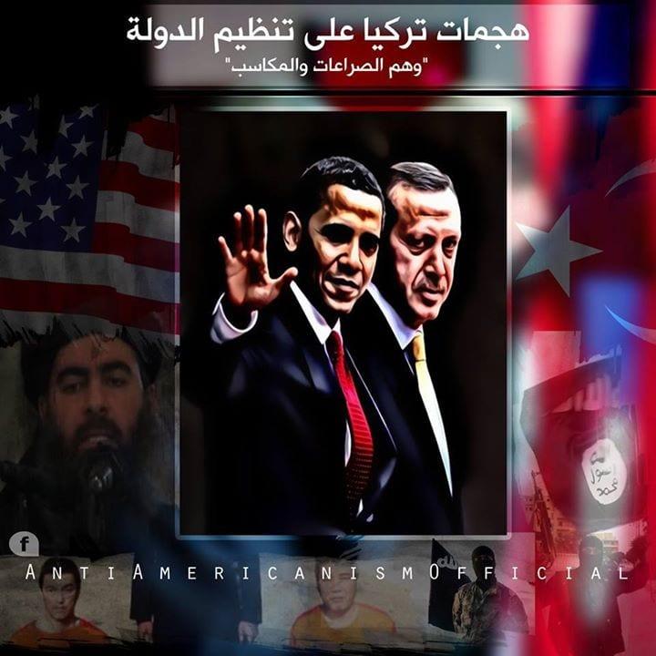 هجمات تركيا على تنظيم الدولة