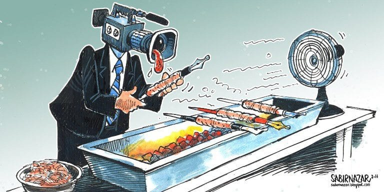 Media-as-warmongers