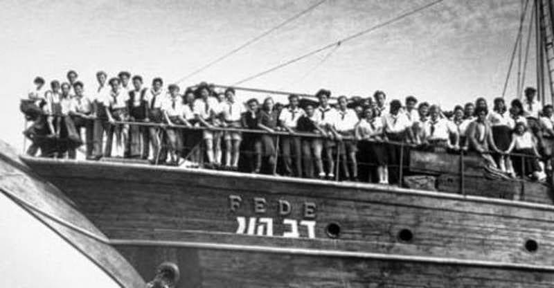 انتقال اليهود إلى فلسطين بمساعدة النظام الدولي