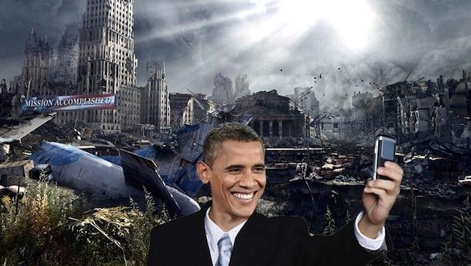 انهيار النظام الدولي الحديث