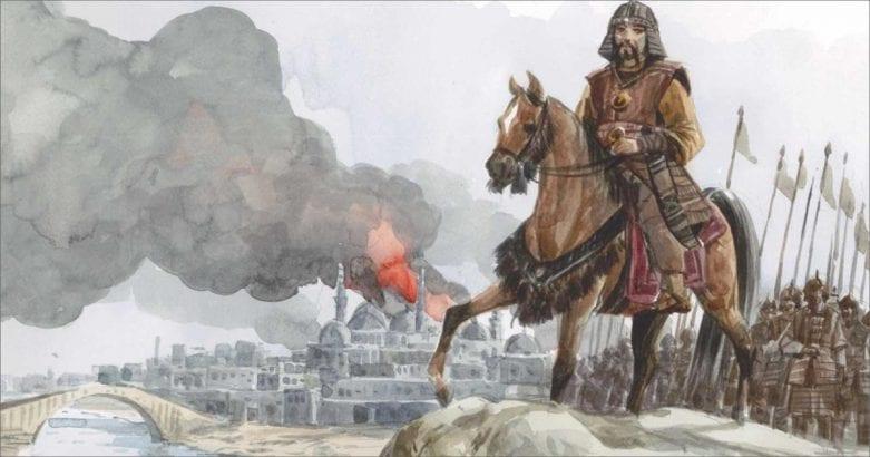 سقوط بغداد ودخول التتار