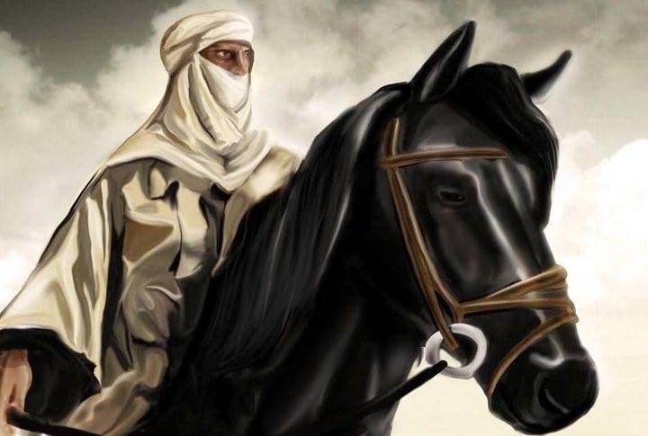 صاحب المملكة: صقر قريش