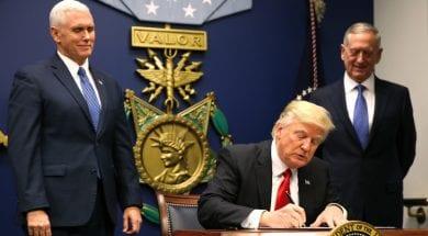 قرار ترامب حول الهجرة