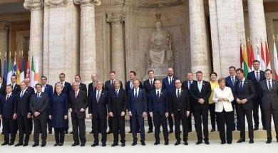 TOPSHOT-ITALY-EU-TREATY-ANNIVERSARY-POLITICS