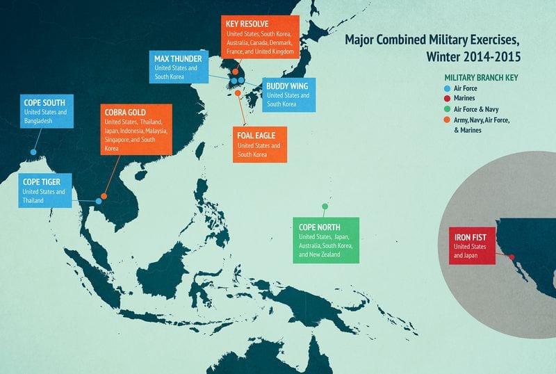 11 حقيقة غريبة لا تعرفها عن كوريا الشمالية 21-mil_exercise_map_issue9_FINAL