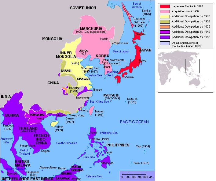 11 حقيقة غريبة لا تعرفها عن كوريا الشمالية 3-Japanese_Empire2