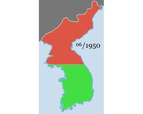 11 حقيقة غريبة لا تعرفها عن كوريا الشمالية 6-Korean_war_1950_1953