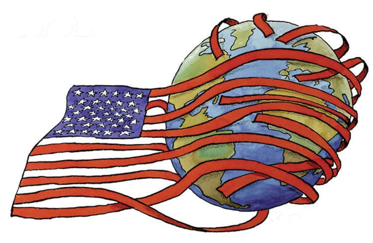 الولايات المتحدة والنظام الدولي 9