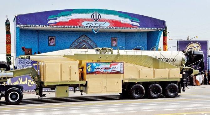 القوة العسكرية الإيرانية بين الواقع والدعاية %D8%B5%D8%A7%D8%B1%D9%88%D8%AE-%D8%AE%D9%88%D8%B1%D9%85%D8%B4%D9%87%D8%B1