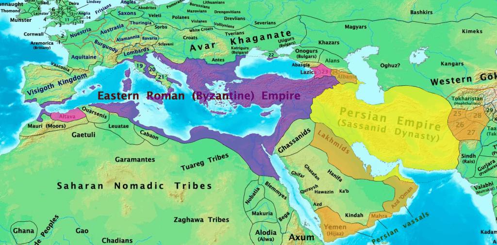 الحضارة الإسلامية كيف صنع المسلمون خير حضارة دون أن ينبهروا بفارس والروم؟ 5