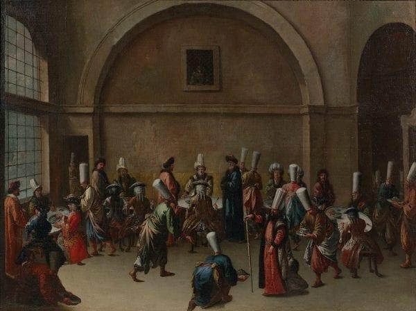 كرمٌ عثمانيٌّ قابلته أوروبا بالغدر، حينما عاش سفراء أوروبا على نفقة السلطان 7