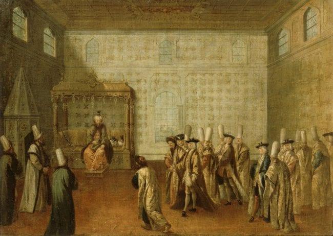 كرمٌ عثمانيٌّ قابلته أوروبا بالغدر، حينما عاش سفراء أوروبا على نفقة السلطان 5